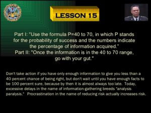 Colin Powell's Leadership Presentation from http://www.slideshare.net/guesta3e206